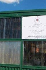 Calabria Community Club ... now worth $20 million.
