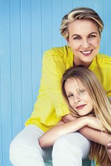Role model … Plibersek with her daughter Anna, aged 12.