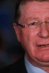 With a back-door move to increase federal fuel tax, Denis Napthine been mown down by a federal government juggernaut.