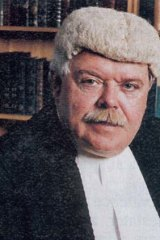 Court controversy: District Court Judge Garry Neilson.