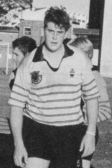 Roberts-Smith as he appeared in his school yearbook.