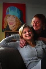 """Clean and serene"": Tandana graduate Erin and her mother, Karin."