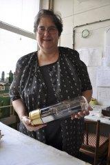 Eunice Kron  Owner of KR Audio, Prague, Czech Republic.