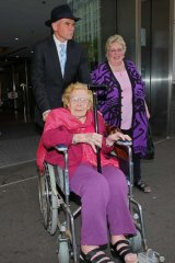 Stephen Firth: Seen leaving court with an ex-Keddies client, Margaret Shuetrim, who sued the firm for overcharging.