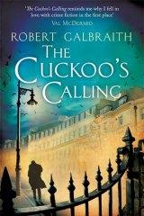 <em>The Cuckoo's Calling</em> by Robert Galbraith, aka J.K. Rowling.