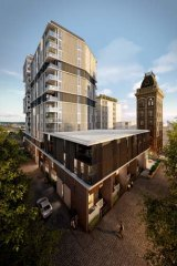 Collingwood Brewery Converted To Residential Precinct
