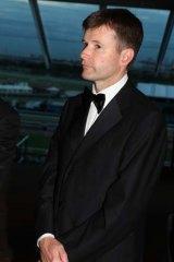 In the running ... VRC Chairman Michael Burn.