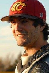 Tragic loss: Christopher Lane.