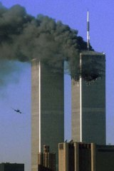 The day that changed the world ... the World Trade Center twin towers, September 11, 2001