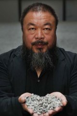 Ai Weiwei ... the artist is missing.