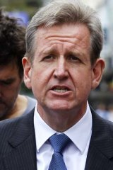 Reforms: Barry O'Farrell.