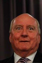 Scaremongering: Broadcaster Alan Jones.