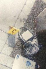 Lisa Harnum's handbag  found near her body.