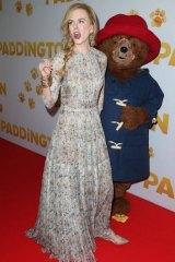Nicole Kidman hits the Sydney red carpet with Paddington Bear on Sunday morning.
