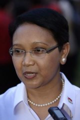 New Indonesia Foreign Minister Retno Marsudi.