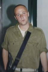 Ben Zygier in the Israeli Defence Force.