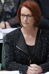 Missing all the signals ... Julia Gillard.