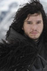 Kit Harrington as Jon Snow in <i>Game of Thrones</i>. Would this make a good Pantene commercial?
