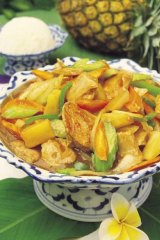 Sweet and sour pork: anachronistic?