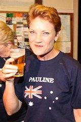 Pauline Hanson: ''Goodbye forever.''
