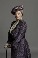 Maggie Smith as Violet Dowager Countess of Grantham in Downton Abbey