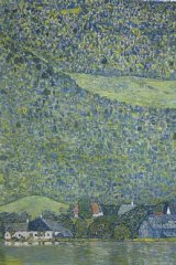 Gustav Klimt's Litzlberg am Attersee is to be auctioned in New York.