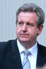 Barry O'Farrell ... set to wear some bruises.