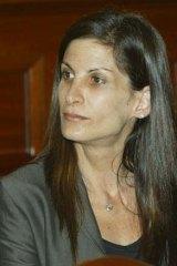 Mr Roozendaal's former wife Amanda.