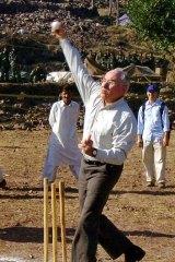 As a cricketer, former Australian Prime Minister John Howard made a great fan.