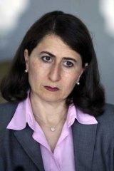 Gladys Berejiklian, NSW Minister for Transport.