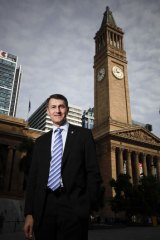 Brisbane Lord Mayor Graham Quirk.