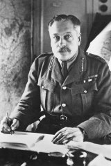 Issuing the orders: British Commander General Douglas Haig.