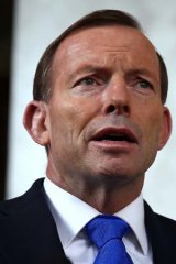 Has already made known his doubts about climate change: Prime Minister Tony Abbott.