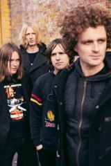 Melbourne band British India.