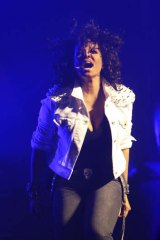 Janet Jackson at the Sydney Opera House on Saturday night.