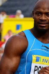 Asafa Powell won two gold medals at the Melbourne Commonwealth Games in 2006.