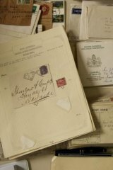 Postage through the ages.