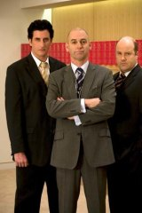 New satire: The Hollowmen team will be on hand to help with the new project <i>Utopia</i>.