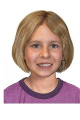 An age-progressed image of how Serena Speath might look now. The now eight-year-old went missing from Brisbane in 2014 with her brother Thomas. They are believed to be with their mother.