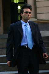 Involved in five court cases ... Anthony Sahade.