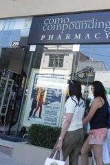 The South Yarra pharmacy.