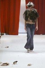 An outfit by Australian designer Ksubi.