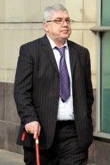 Liam Adams: denies assaulting his daughter.