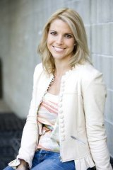 Post-Matildas ... sports anchor for WIN television Amy Taylor, as she is today.