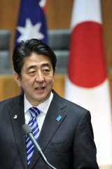 """""""Our fathers and grandfathers lived in a time that saw Kokoda and Sandakan,'': Shinzo Abe."""