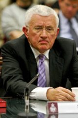Ron Medich ... did not like Sylvia Hale's question. Photo: Dallas Kilponen