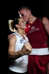 Jessica Rettalick and boyfriend Jesse Ross are sharing their Olympic journey.