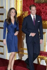 Prince William and Kate Middleton, Duke and Duchess of Cambridge.