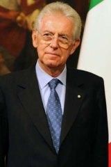 Italy's new Prime Minister Mario Monti.