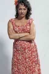 Drug baroness ... Rena Owen in <i>The Straits</i>.